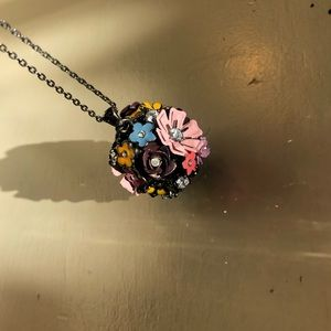 Juicy flower ball 24 inch necklace